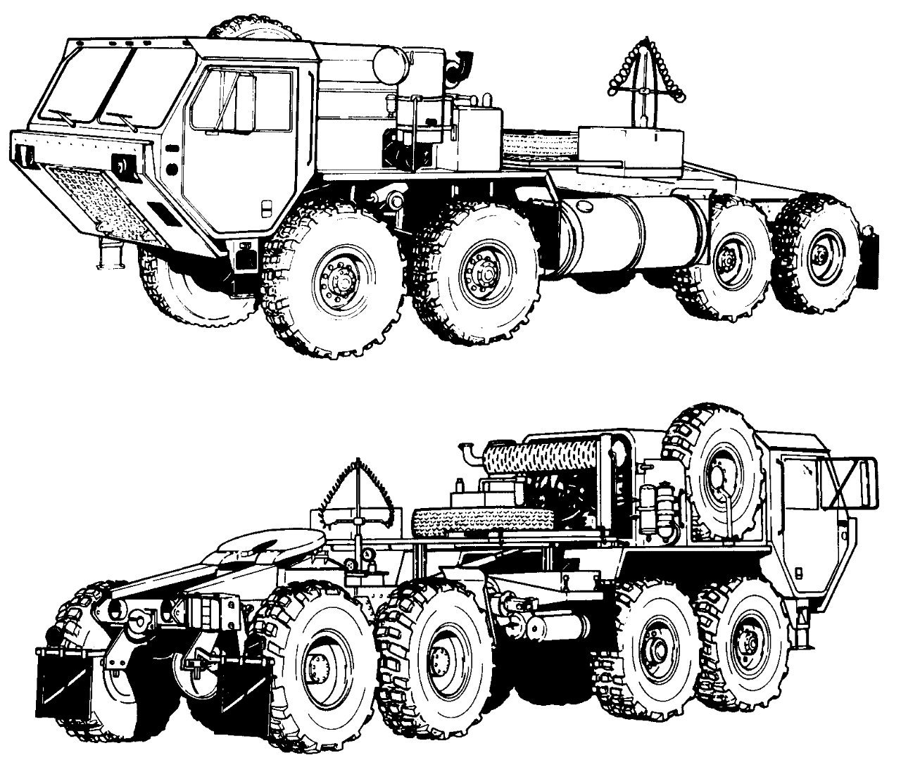 Army truck coloring pages