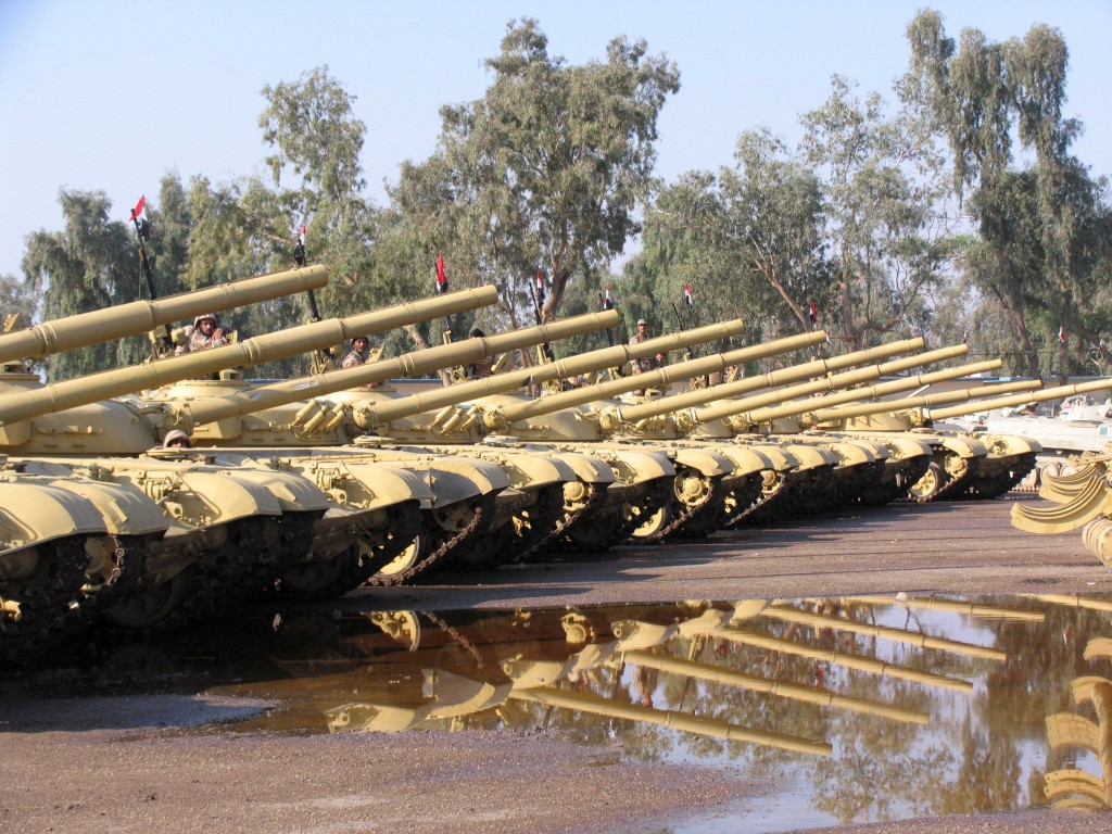 Refurbished t 72 tanks and bmp 1 ifvs