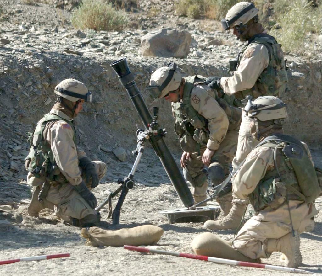 Military Mortar Sizes : M mm medium mortar