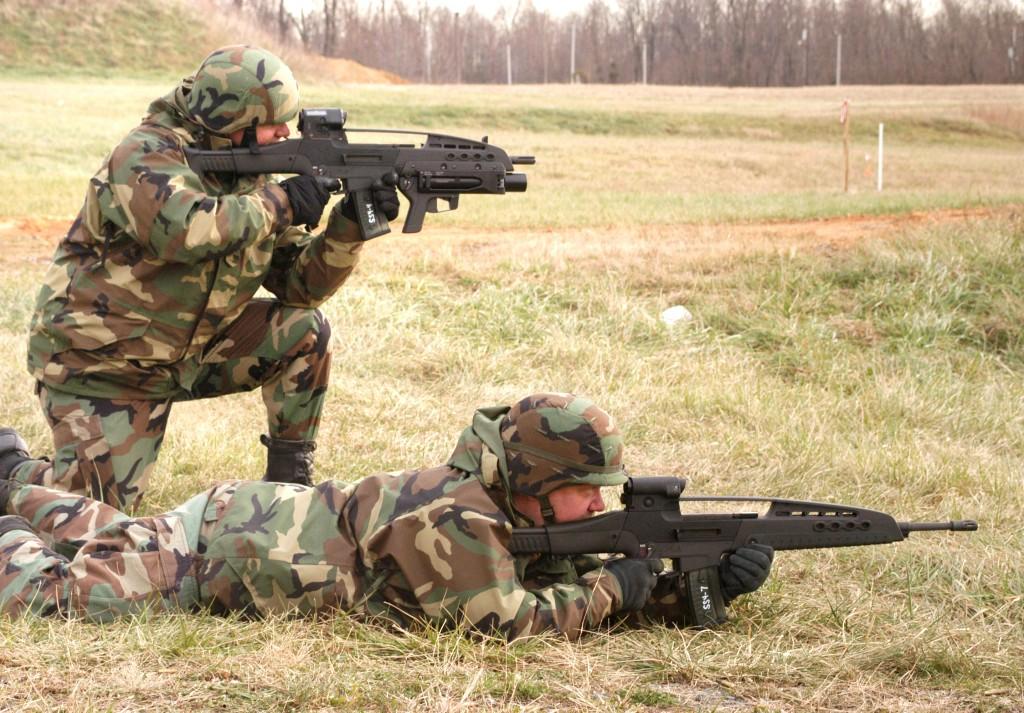 XM8 5.56mm Carbine