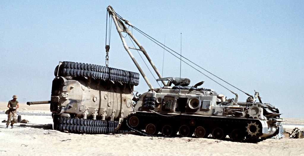 M88 Recovery Vehicle