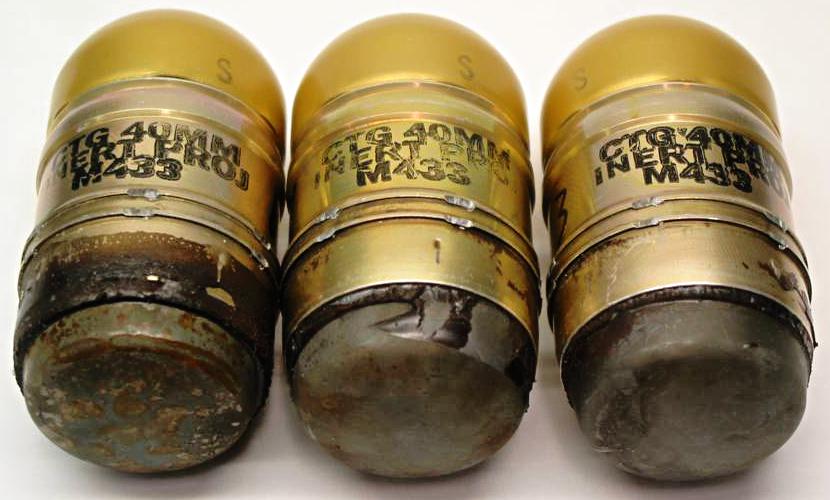 40mm Low-Velocity Grenades