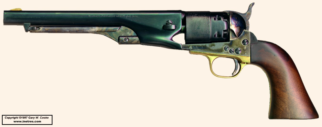 Gary's Cap & Ball Revolvers Page